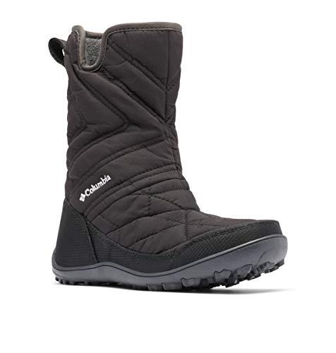 Columbia Młodzieżowe buty Minx Slip III śniegowe, czarne, białe, 36 EU, czarny - Czarno-biały Black White - 34 EU