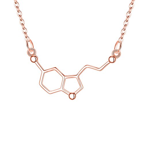 Le collier porte-bonheur pour passionnée de chimie
