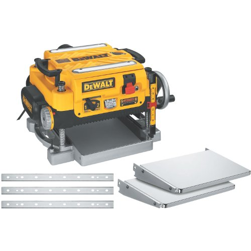 DEWALT 13-Inch Thickness Planer - Three Knife, Two speed, DW735X model $499