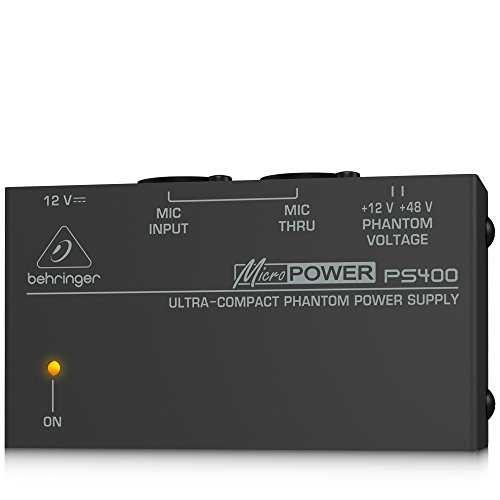 Behringer PS400 - Fuente de alimentación (2W, 100 - 240V, 50 - 60 Hz, XLR, Poder)