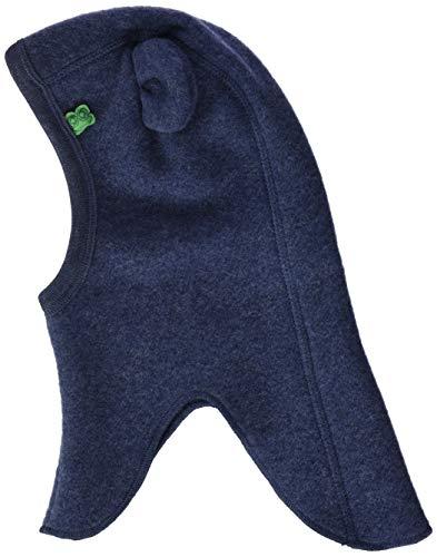 Fred's World by Green Cotton Baby-Boys Wool Fleece hat Beanie Hat, Navy Melange, 56/62