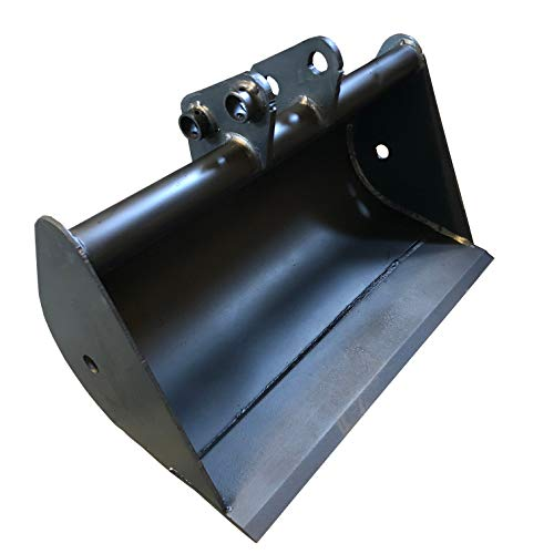 Micro Bagger-Löffel 50cm Tieflöffel Bolzen 25mm Tiefschaufel Baggerschaufel