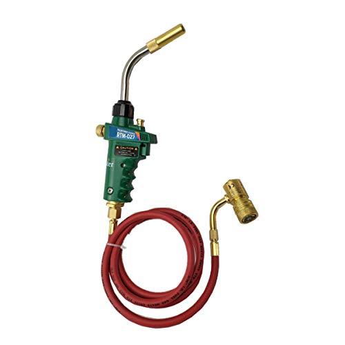 Antorcha de soldadura de gas Mapp profesional, conexión CGA600, para soldar joyas, antorcha de calentador de quemador para tubería BBQ HVAC(Tywel-027S)