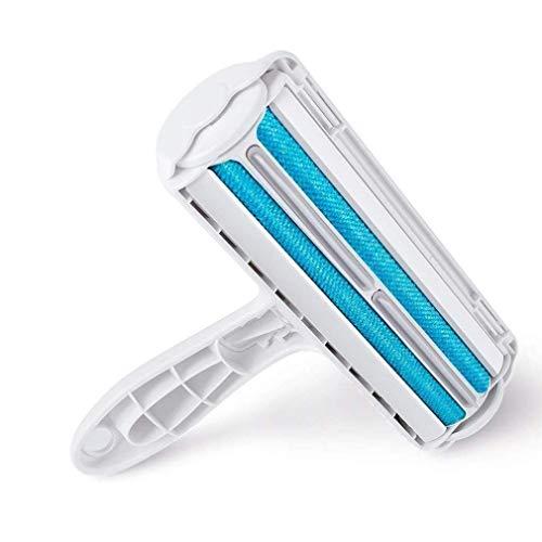 Pet Supplies, Reusable Pet Hair Remover Bar Roller Brushing Device Seat Sofa Hair Adhesion Sunshine20 (Color : Blue)