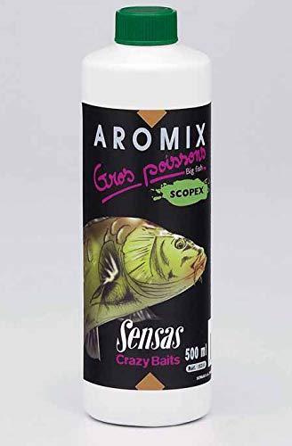 Sensas - Aromix Gros Poissons Scopex 500Ml - 15311