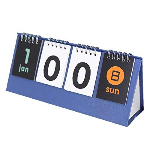Ruluti Calendario De Escritorio Planificador Diario Oficina De Decoración Accesorios De Escritorios De Planificación Escolar
