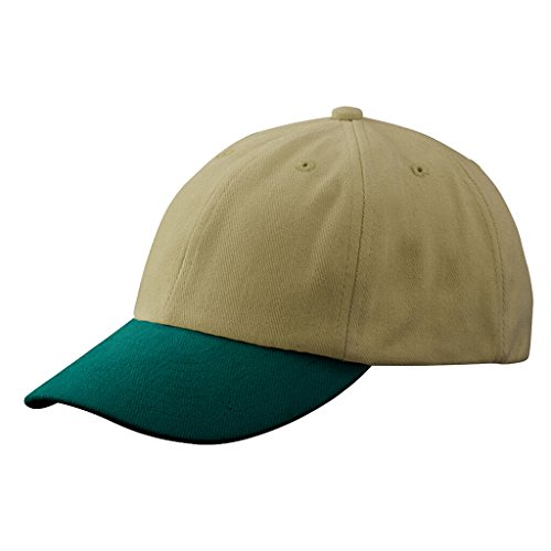 MYRTLE BEACH Casquette Disponible en 31 Couleurs (Beige/Dark-Green)