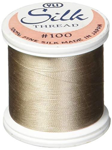 YLI Silk Ribbon 7mm Wide x 3m Long Orange Shade 040