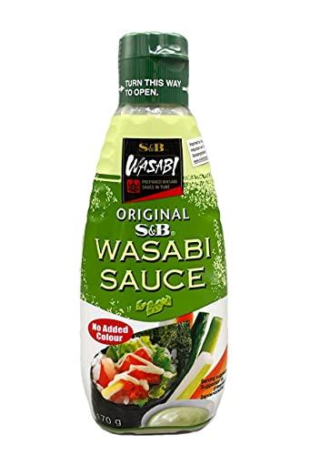 S&B Original Wasabi Sauce 170g