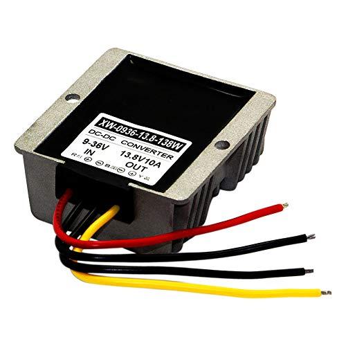 Blackr DC9V-36V zu 13,8 V Gleichstrom Step Up/Down Power Converter, 10 A 138 W DC Netzteil Spannungswandler Adapter Regler
