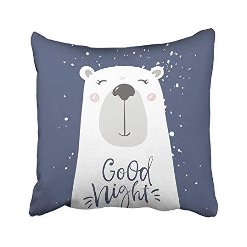 Funda de almohada decorativa para el hogar, 18 x 18 cm, diseño de oso en el espacio, astronauta de dibujos animados, celebración, personaje infantil, 45 x 45 cm, fundas de cojín cuadradas decorativas para sofá, accesorio para el hogar