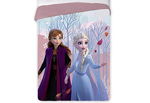 T&R Steppdecke Disney 408 Die Eiskönigin für Bett 90/105