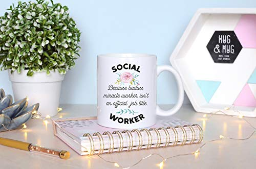 Grappige Sociale Werker Cadeau voor Sociaal Werk Cadeau voor Sociale Werker Mok, Coworker Cadeau Sociaal Werk Werk Sociale Studies Cadeau Sociaal Werk Student, 11oz Keramische Mok