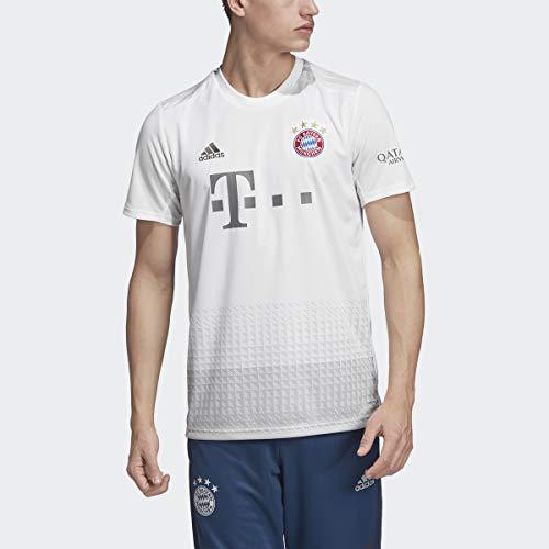 adidas 2019-20 FC Bayern Away Jersey - White-Grey M