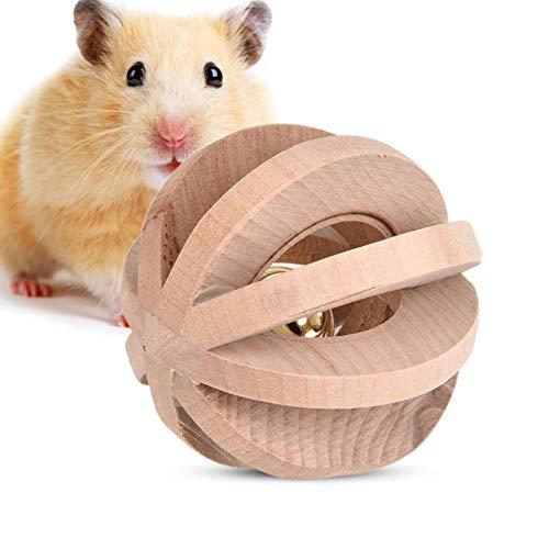 Mascotas Madera Masticables Bola Hamsters Mastica