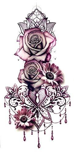 EROSPA® Tattoo-Bogen temporär - Dekolletee - Frauen - Wasserfest