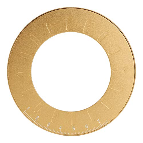 Regla de dibujo redonda-Herramienta de dibujo circular de 12,5 cm Herramienta de medición redonda flexible Plantilla de pintura de acero inoxidable