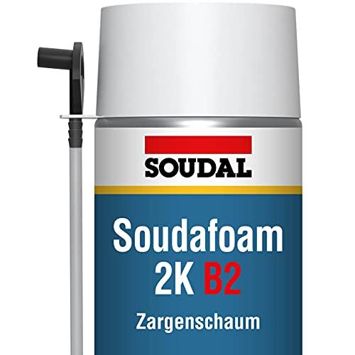 SOUDAL SOUDAFOAM B2 2K Schnellschaum | Profi PU - Adapterschaum 2K | Inhalt: 400ml