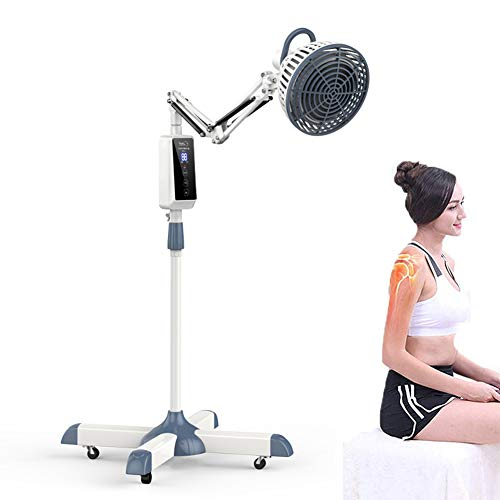 BEIAKE TDP Infrared Heating Floor Lamp with Smart Touch Display Medical Heat Lamp for Joints Pain Relief Muscle Tense Therapy Arthritis,Salon Home
