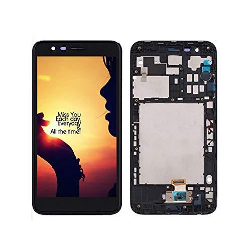 5.3'FIT FOR For LG K10 2018 K11 K30 X410 Pantalla LCD Pantalla Táctil Conjunto Digitalizador con Ajuste De Reemplazo De Marco Fit For LG K10 2018 Pantalla LCD (Color : with Frame K10 2018)
