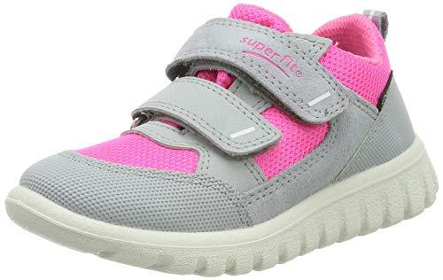 Superfit Baby Mädchen Sport7 Mini Gore-Tex Sneaker, Grau (Grau/Rosa 25), 29 EU