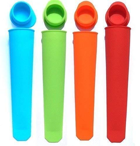 Calypso Silikon Push-Up Eis Pop Lolly Hersteller Popsicle Formen - 4 Pack