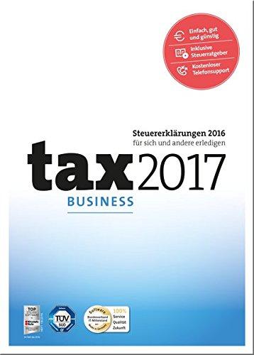 Preisvergleich Produktbild tax 2017 Business (für Steuerjahr 2016)