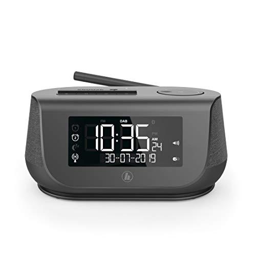 Hama wekker met stereo digitale radio, Bluetooth, USB-oplaadfunctie zwart