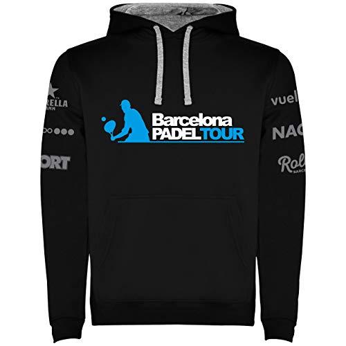 Barcelona Padel Tour Sudadera Hombre Negra S