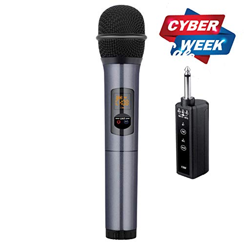 Kithouse K380F Wireless Microphone Karaoke Microphone...
