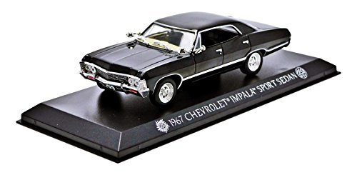 Greenlight Chevrolet Impala Sport Sedan (1967)–aus der Fernsehserie Supernatural (seit 2005)