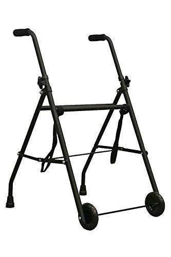 PEPE-GEHGESTELL, Gehgestell für senioren, Gehgestell faltbar mit rollen, Rollator faltbar und leicht, Rollator schmal für wohnung, Rollator indoor