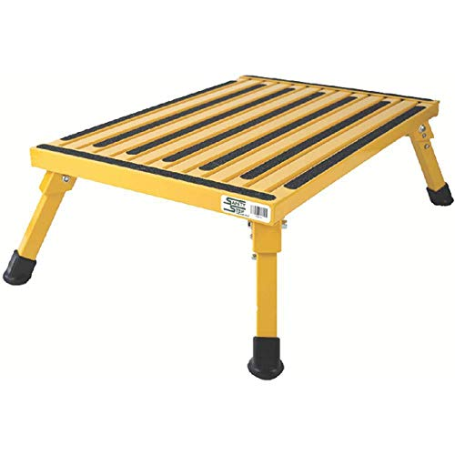 Safety Step XL-08C-Y Marchepied Pliable Jaune Taille XL