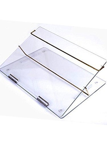LUVYANSH Writing Table TOP Elevator Desk (18 * 24) INCH 9mm Thick (P.S Sheet) Medium Quality Sheet Product Transparent Clear with Height Adjustable and with 15 Days Warranty.