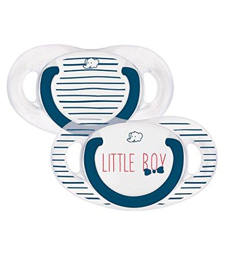 bébé confort Rebel Rules Boy Set de 2 Sucettes Natural Physio en Silicone 0/6 Mois