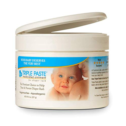 Price comparison product image Triple Paste Medicated Ointment for Diaper Rash-8oz