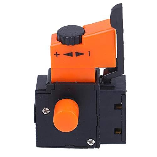 Interruptor de control de velocidad de taladro eléctrico del interruptor de disparo FA2-4 1BEK mano/taladro de velocidad Regulador ajustable para taladro eléctrico fuentes herramienta Accesorios