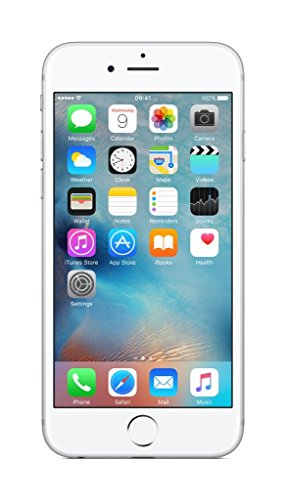 Apple iPhone 6s 64 GB UK SIM-Free Smartphone - Silver (Generalüberholt)