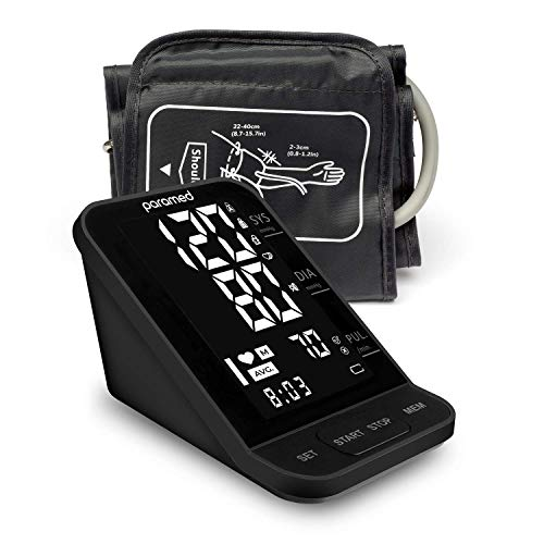 Review Of Blood Pressure Monitor by Paramed: Automatic Upper Arm Machine & Digital BP Cuff Kit 22-40...