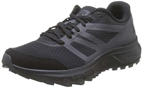 Salomon Trailster 2, Zapatillas de Trail Running para Hombre, Negro (Black/Black/Magnet), 45 1/3 EU