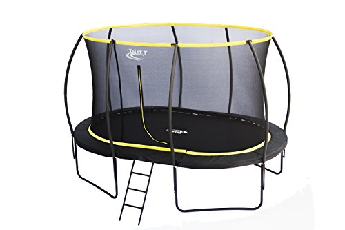 Orbit 7 x 10ft Oval Telstar Trampoline And Enclosure Package