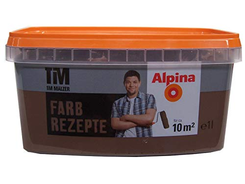 ALPINA Farbe Tim Mälzer Farbrezepte 1 L, Chocolat