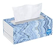 Kleenex, Facial Tissues, 1 Flat Box, 144 Count