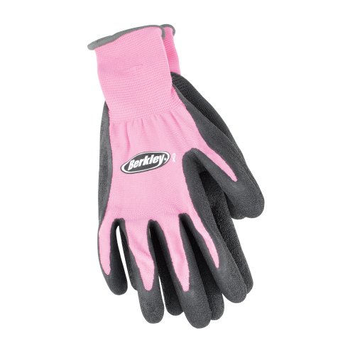 Berkley BTLCFG Coated Grip Gloves, Pink