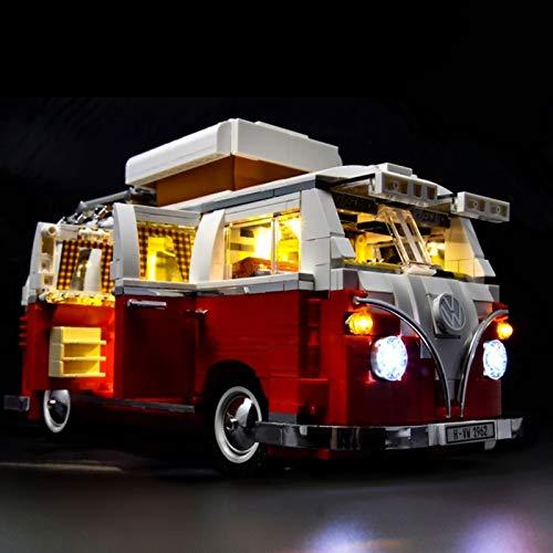 Juego de luces para Lego 10220, kit de iluminación LED compatible con (serie Creator Volkswagen T1 Camper Van) modelo de bloques de construcción (NO incluido el modelo)