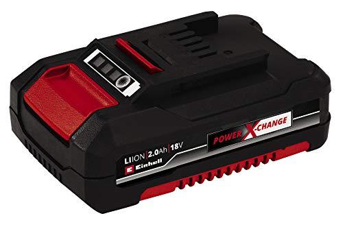Original Einhell System Akku Power X-Change (Lithium Ionen Akku, 18 V, 2,0 Ah, passend für alle Power X-Change Geräte)