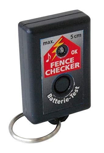 Weidezaun, Elektrozaun Schnell-Tester Fence Checker: Ist Strom auf dem Zaun? ideal für Angler, Wanderer, Jugendliche, Reitschüler - klein und handlich