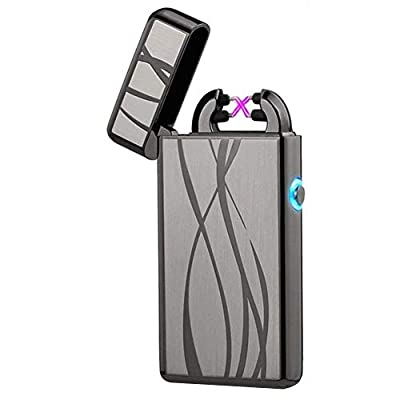 USB Rechargeable Plasma Lighter Flameless Butane