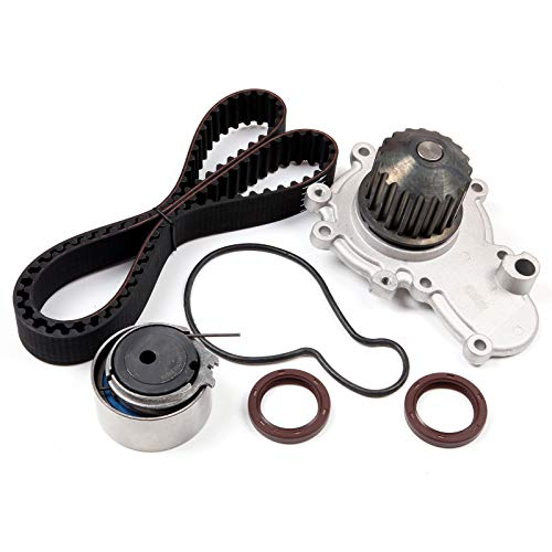 Timing Belt Kit including timing Belt water pump with gasket tensioner bearing etc,OCPTY Compatible for 2000 Chrysler Cirrus/1995 1996 1997 1998 1999 2000 2001 2002 2003 2004 2005 Dodge Neon