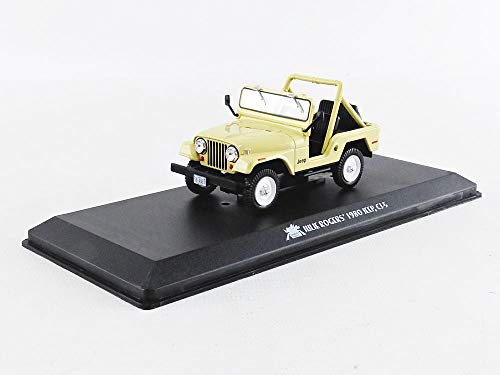 Greenlight Jeep CJ5 1980 gele Charlie inzis Angels modelauto 1:43 Collectibles